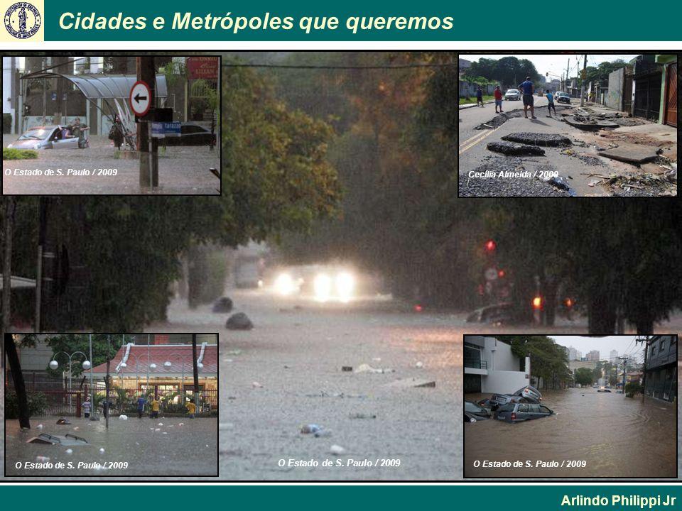Cidades e Metrópoles que queremos Arlindo Philippi Jr O Estado de S. Paulo / 2009 Cecília Almeida / 2009 O Estado de S. Paulo / 2009