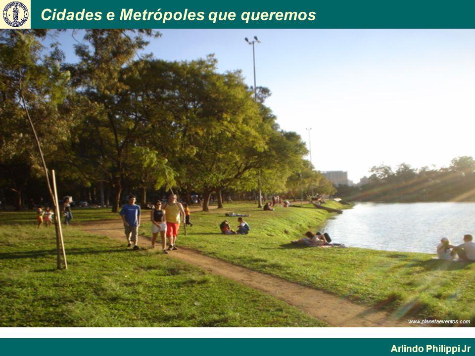 Cidades e Metrópoles que queremos Arlindo Philippi Jr www.planetaeventos.com