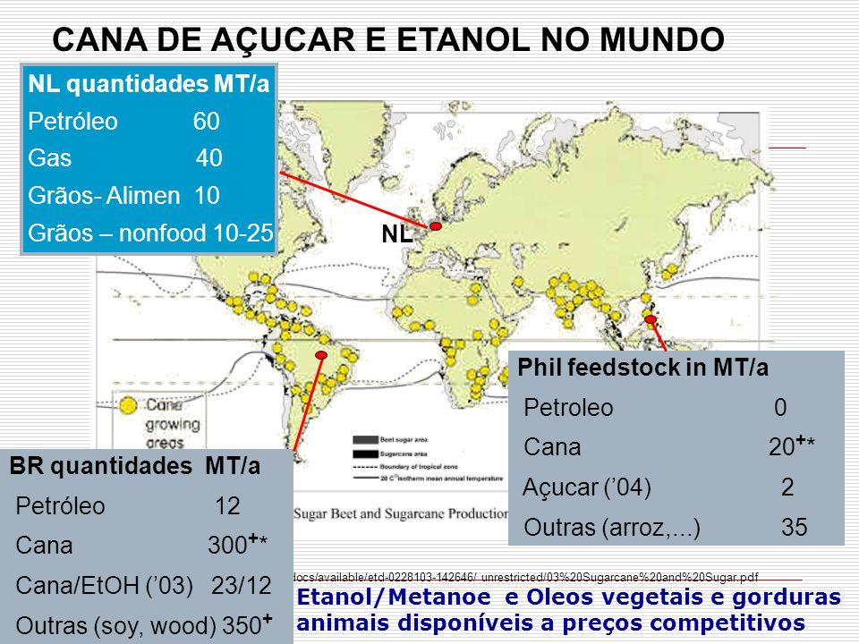 CANA DE AÇUCAR E ETANOL NO MUNDO http://etd02.lnx390.lsu.edu/docs/available/etd-0228103-142646/ unrestricted/03%20Sugarcane%20and%20Sugar.pdf NL quant