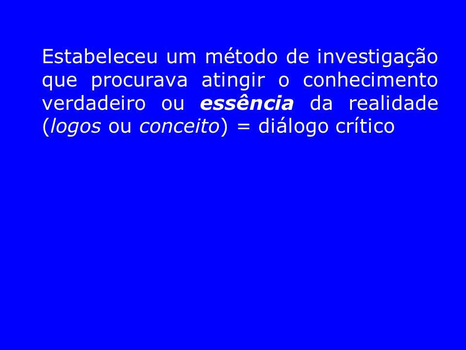 O método de Sócrates: ironia e maiêutica a) Ironia (interrogar, perguntar): Sócrates refutava as respostas dadas, evidenciando as suas contradições, as opiniões formadas.