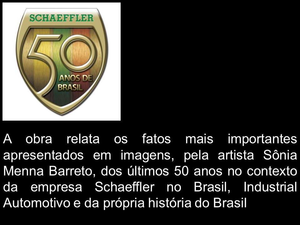 Sônia Menna Barreto INA, FAG e LuK-Schaeffler Brasil-50 anos Desenvolvimento da obra passo a passo 2008
