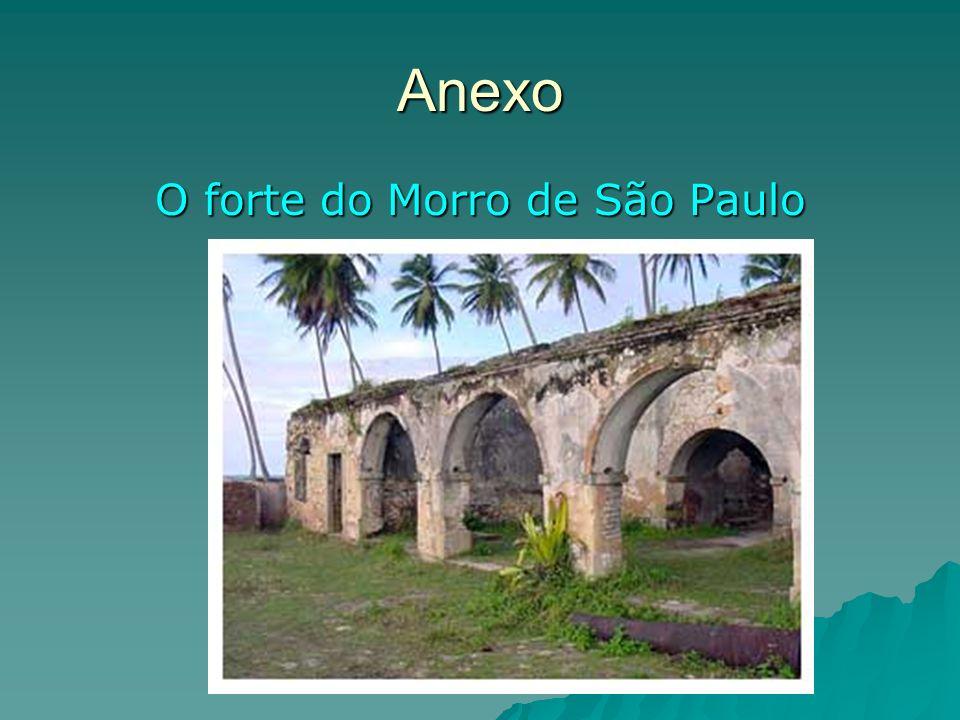 Anexo O forte do Morro de São Paulo