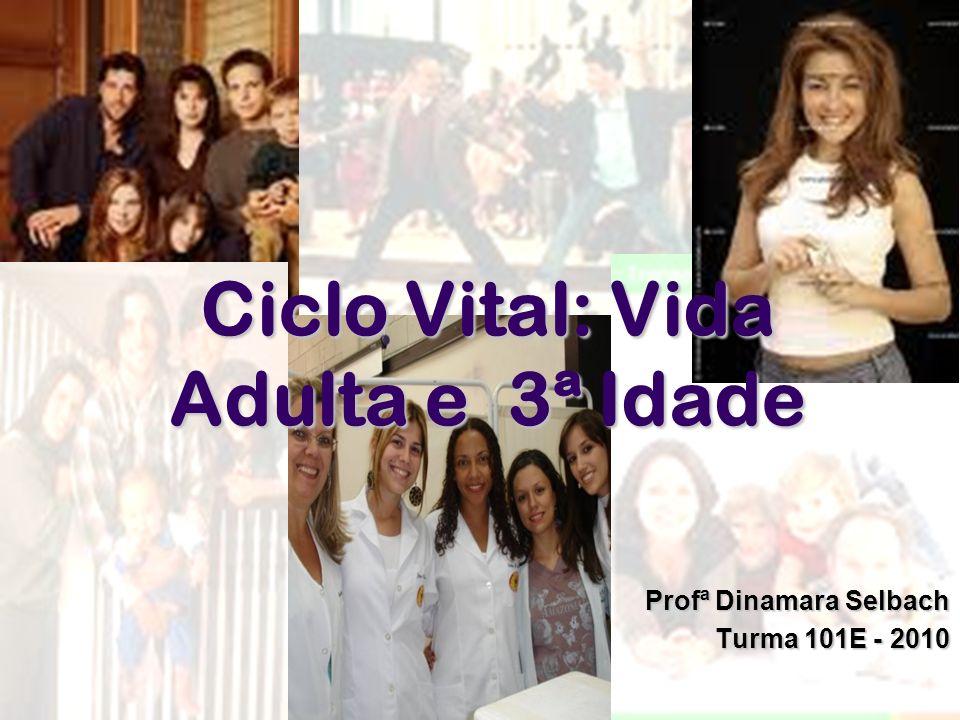 Ciclo Vital: Vida Adulta e 3ª Idade Profª Dinamara Selbach Turma 101E - 2010
