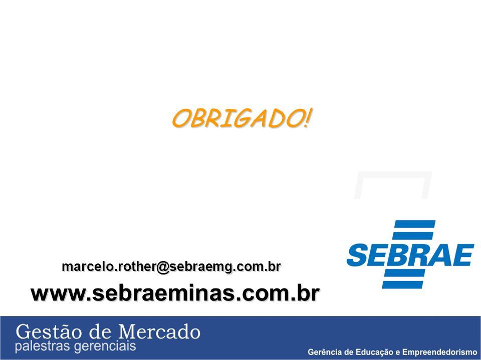 marcelo.rother@sebraemg.com.br www.sebraeminas.com.br OBRIGADO!