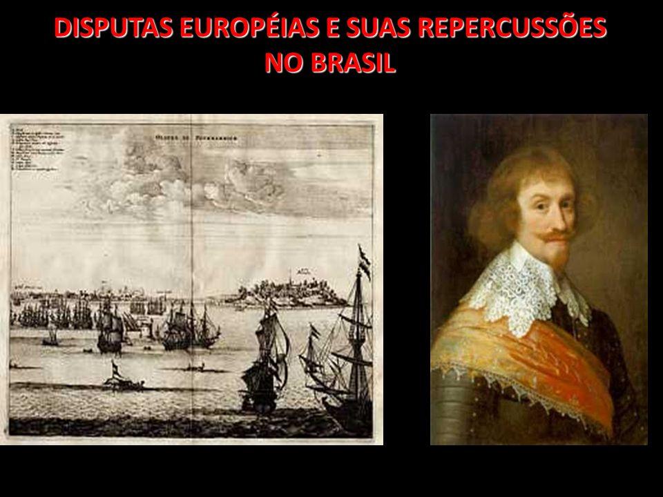 Entre os séculos XVI e XVIII, houve uma grandes disputa entre os principais países europeus : Inglaterra, França, Portugal, Espanha e Holanda.