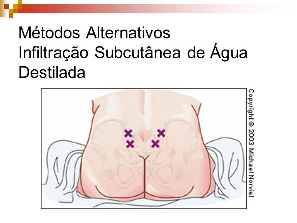 Analgesia Intramuscular Absorção pouco previsível Latência prolongada Titulação difícil Sedação Depressão respiratória Prurido Náuseas e vômitos