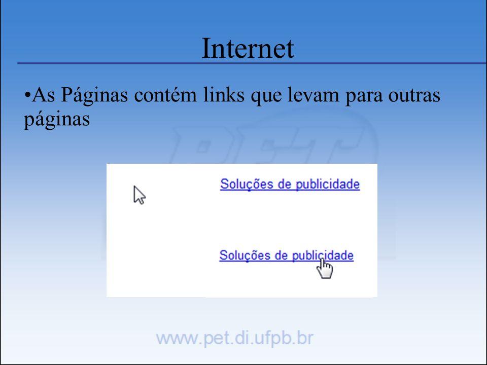 Navegador Necessário para exibir páginas da Internet