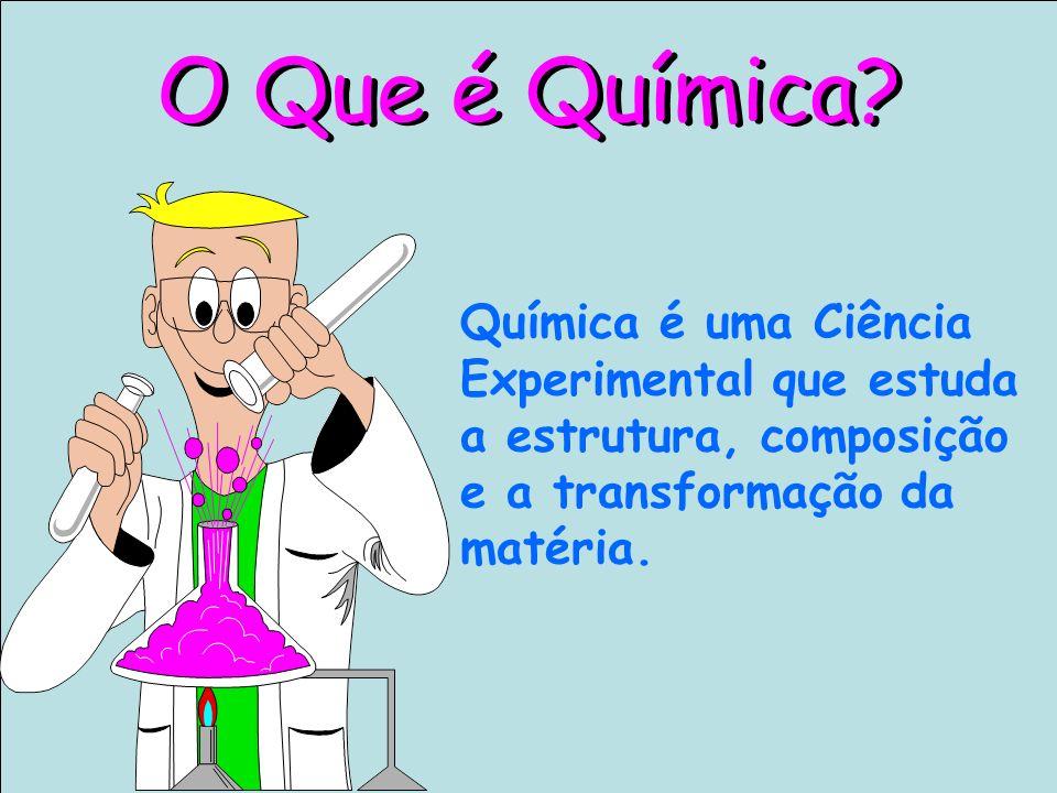 As Ciências Físicas e Químicas Química do cotidiano