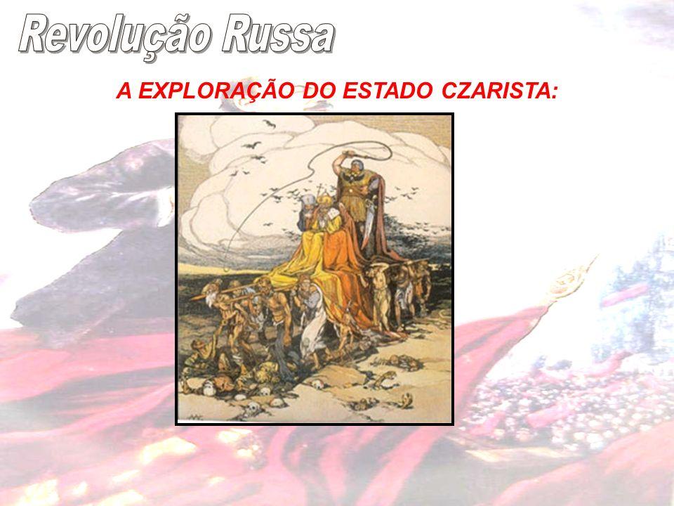 A EXPLORAÇÃO DO ESTADO CZARISTA: