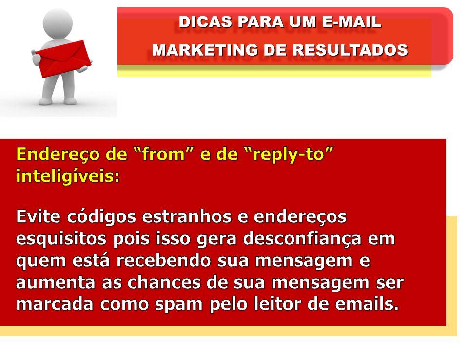 DICAS PARA UM E-MAIL MARKETING DE RESULTADOS DICAS PARA UM E-MAIL MARKETING DE RESULTADOS
