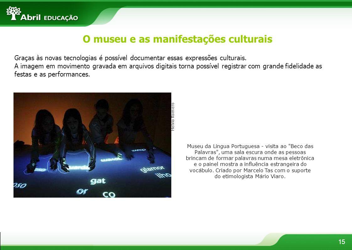 Museu da Língua Portuguesa - visita ao