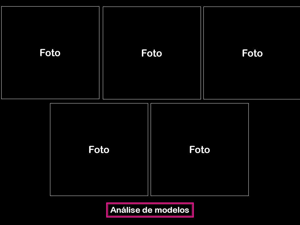 Análise de modelos Foto