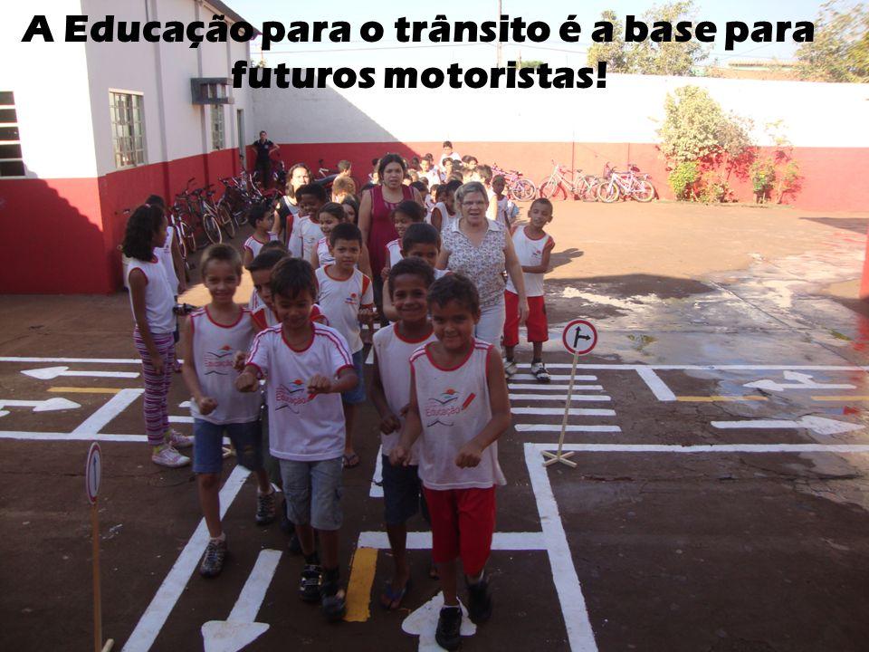 A Educação para o trânsito é a base para futuros motoristas!