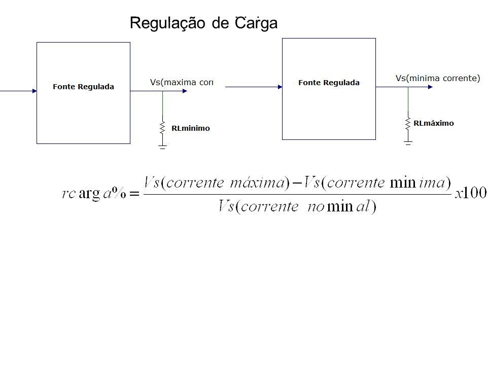 Regulação de LinhaRegulação de Carga