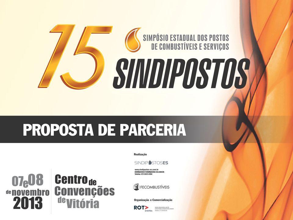 O 15º Simpósio Estadual dos Postos de Combustível e Serviços, é uma realização do SINDIPOSTOS com o apoio da FECOMBUSTÍVEL.