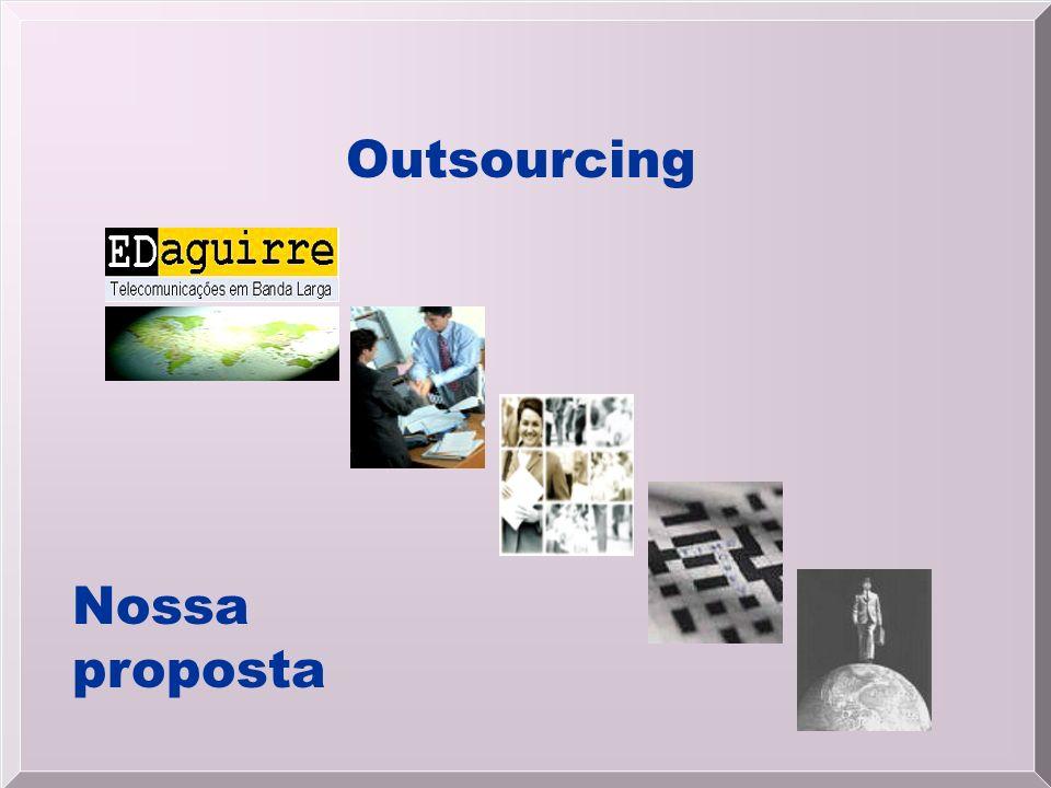 Outsourcing Nossa proposta