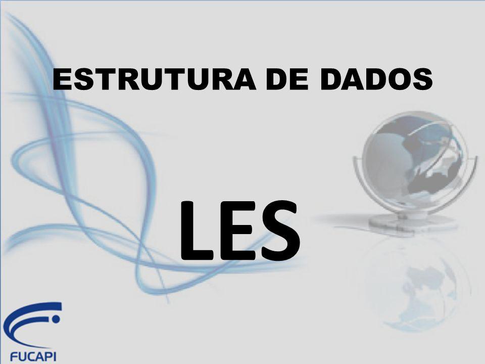 ESTRUTURA DE DADOS LES