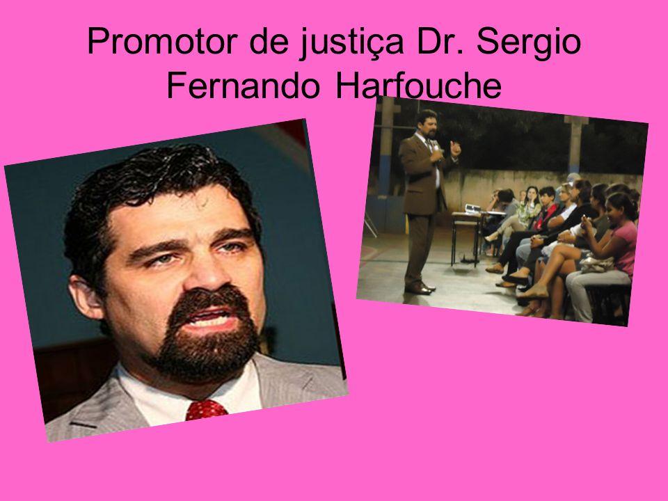 Promotor de justiça Dr. Sergio Fernando Harfouche