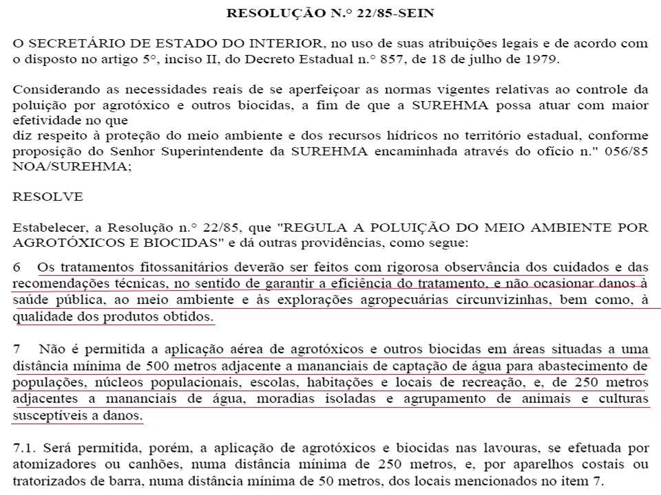 Deriva de Herbicida em Cenoura Uso de agrotóxico em desacordo com a receita agronômica.