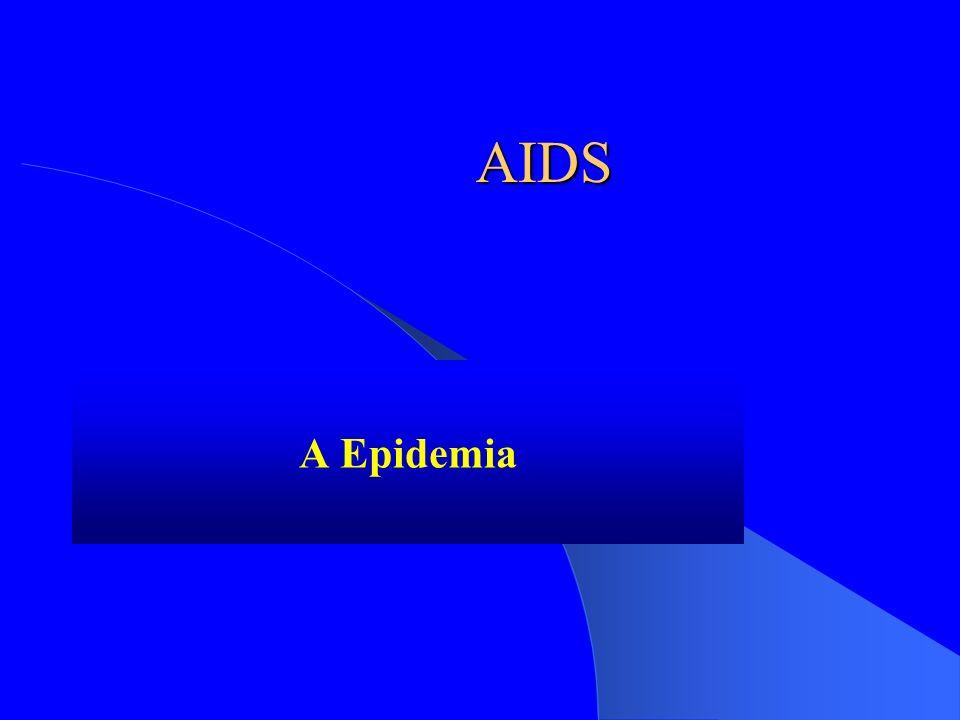 AIDS A Epidemia O agente etiológico Comportamentos de risco Como prevenir?