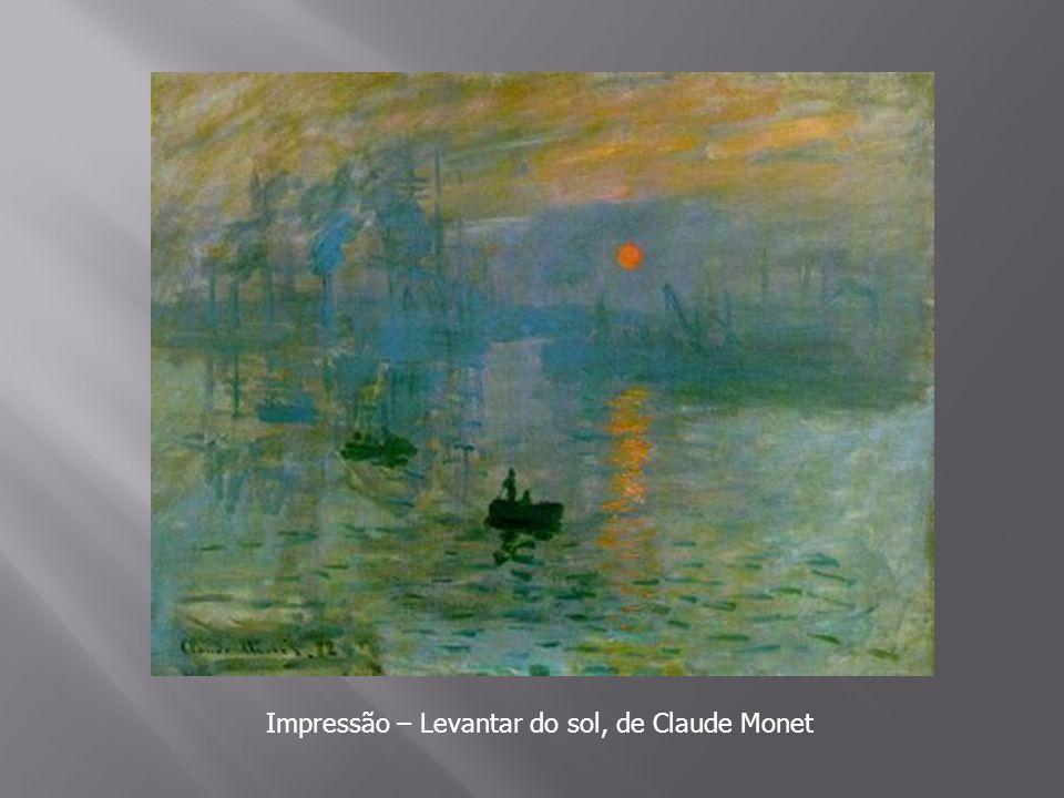 Impressão – Levantar do sol, de Claude Monet