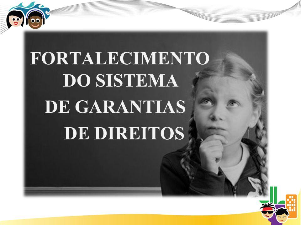 FORTALECIMENTO DO SISTEMA DE GARANTIAS DE DIREITOS