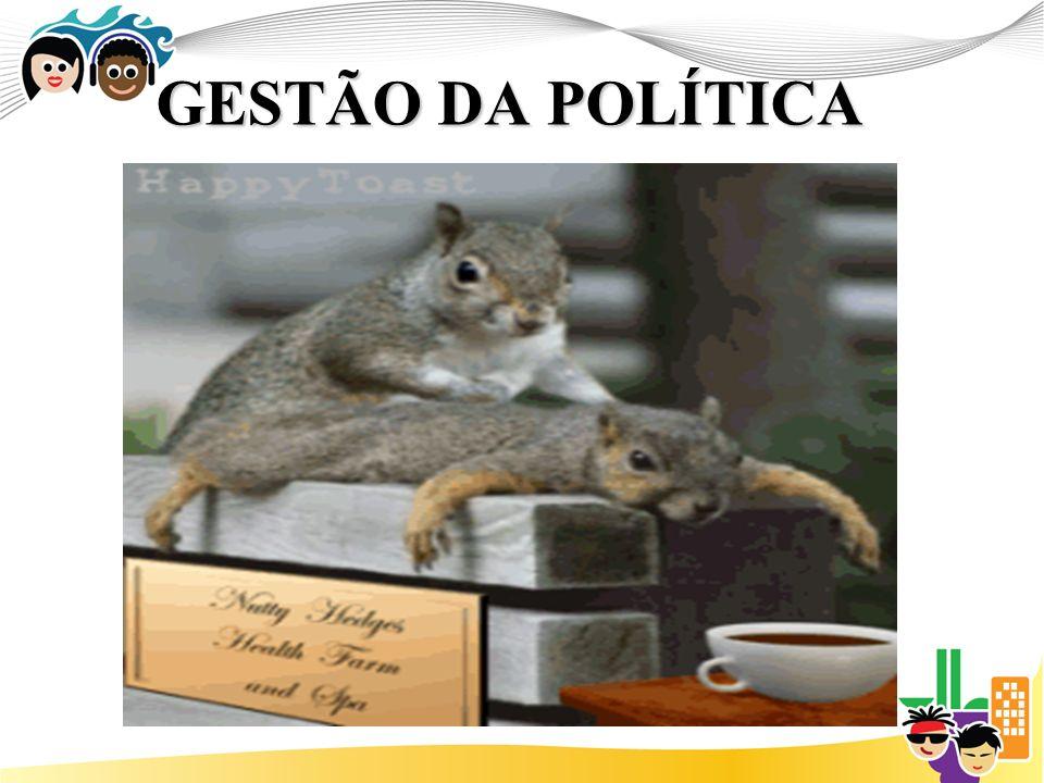GESTÃO DA POLÍTICA
