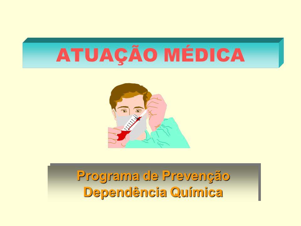 ATUAÇÃO MÉDICA Programa de Prevenção Dependência Química