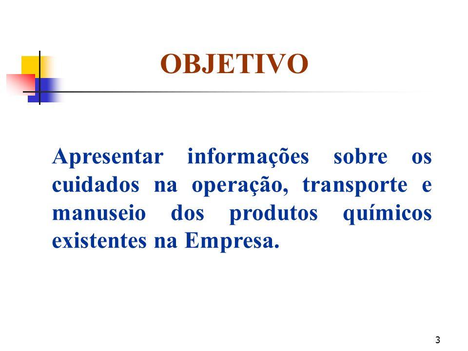 2 O QUE É FISPQ? Ficha de Informações de Segurança de Produtos Químicos ABNT - Associação Brasileira de Normas Técnicas. NBR - 14725