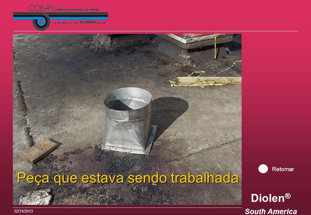 Diolen ® South America 12/31/2013 Peça que estava sendo trabalhada Retornar