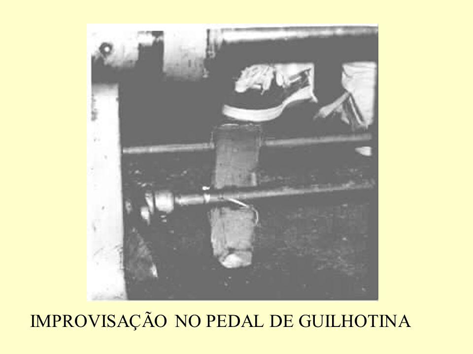 IMPROVISAÇÃO NO PEDAL DE GUILHOTINA