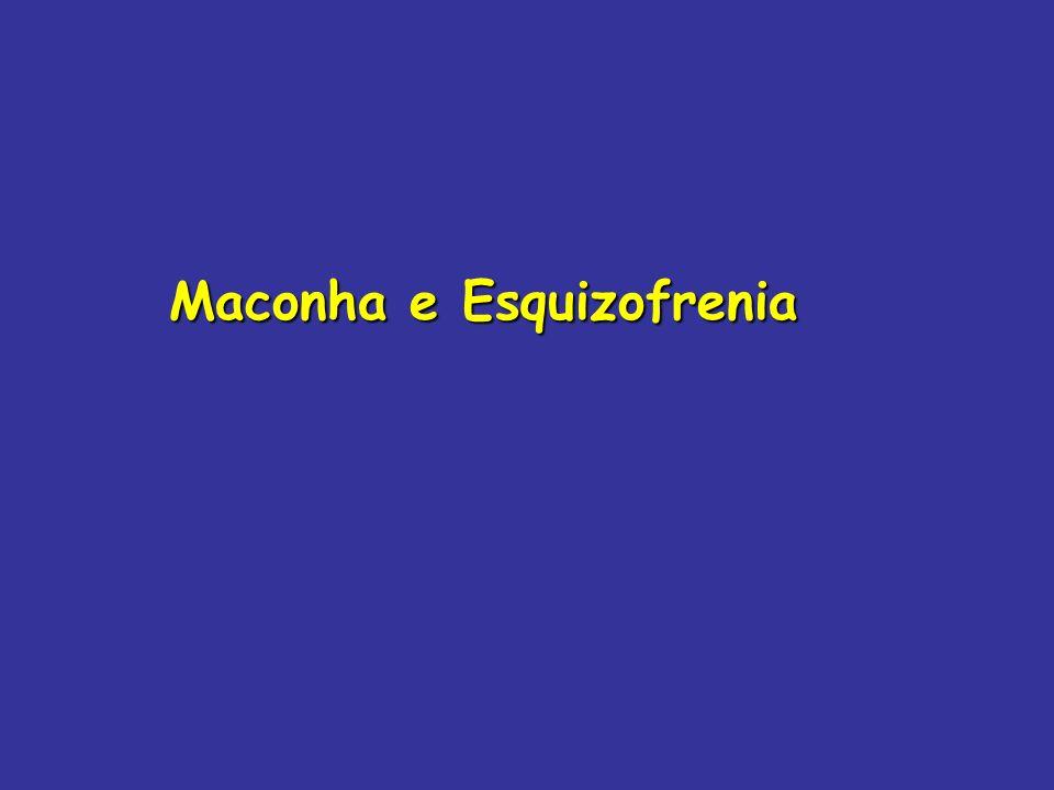Maconha e Esquizofrenia