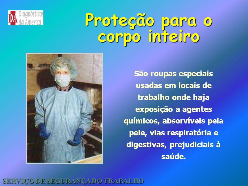 Proteção para Membros Superiores Inferiores SERVIÇO DE SEGURANÇA DO TRABALHO