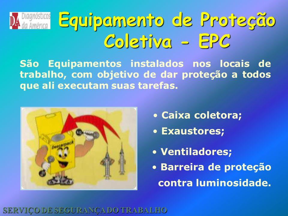 Proteção contra Queda Deverá ser usado nos trabalhos acima de 2,00 metros de altura. Cinto de Segurança tipo pára-quedista SERVIÇO DE SEGURANÇA DO TRA
