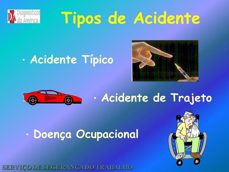 Acidente do Trabalho Conceito Legal Conceito Prevencionista SERVIÇO DE SEGURANÇA DO TRABALHO
