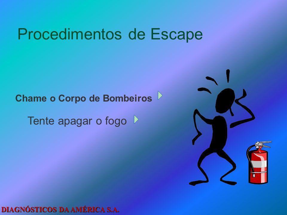 DIAGNÓSTICOS DA AMÉRICA S.A. Como Escapar De Um Incêndio...