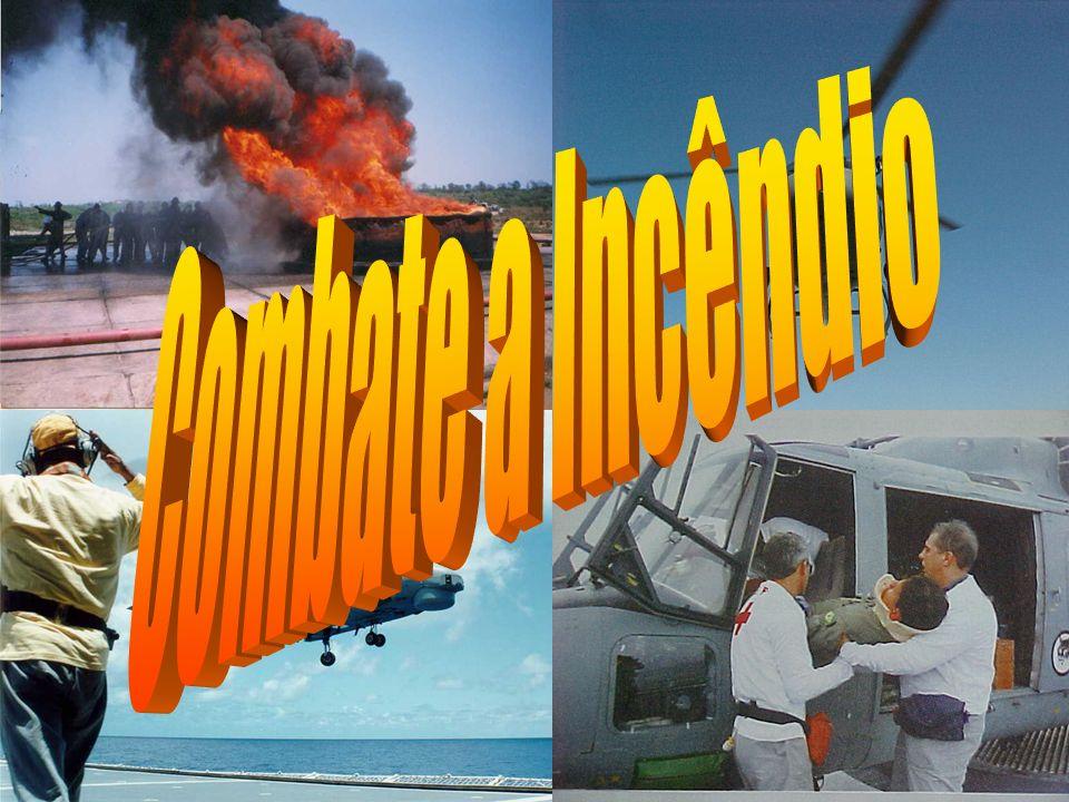 CBINC-AV Ponto de Combustão É a temperatura do combustível, na qual ele desprende vapores suficientes para serem inflamados por uma fonte externa de calor, e em quantidade suficiente para manter a combustão.