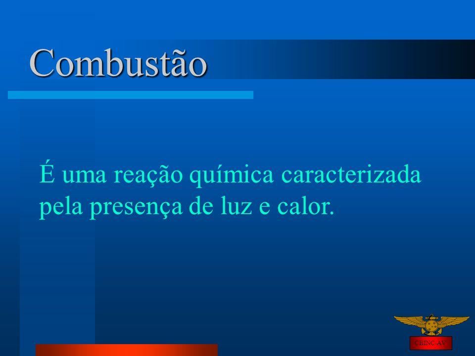 Combustão É uma reação química caracterizada pela presença de luz e calor. CBINC-AV