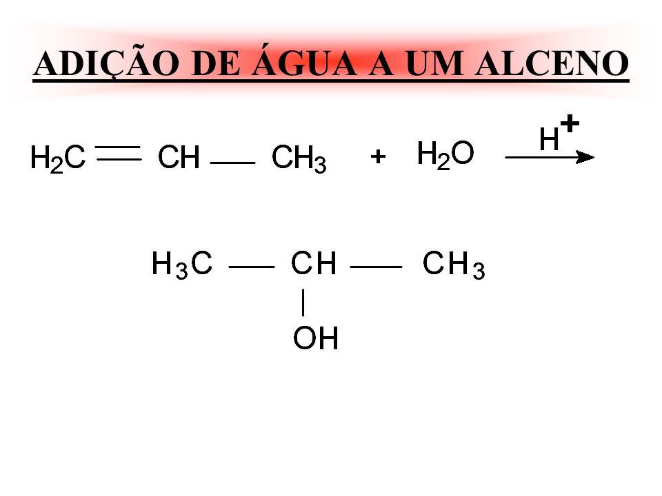 OBS: Só ocorre quando for com HBr e peróxido. OBS: Quando a reação estiver na presença: De luz, calor ou peróxido a cisão será homolítica radicais liv