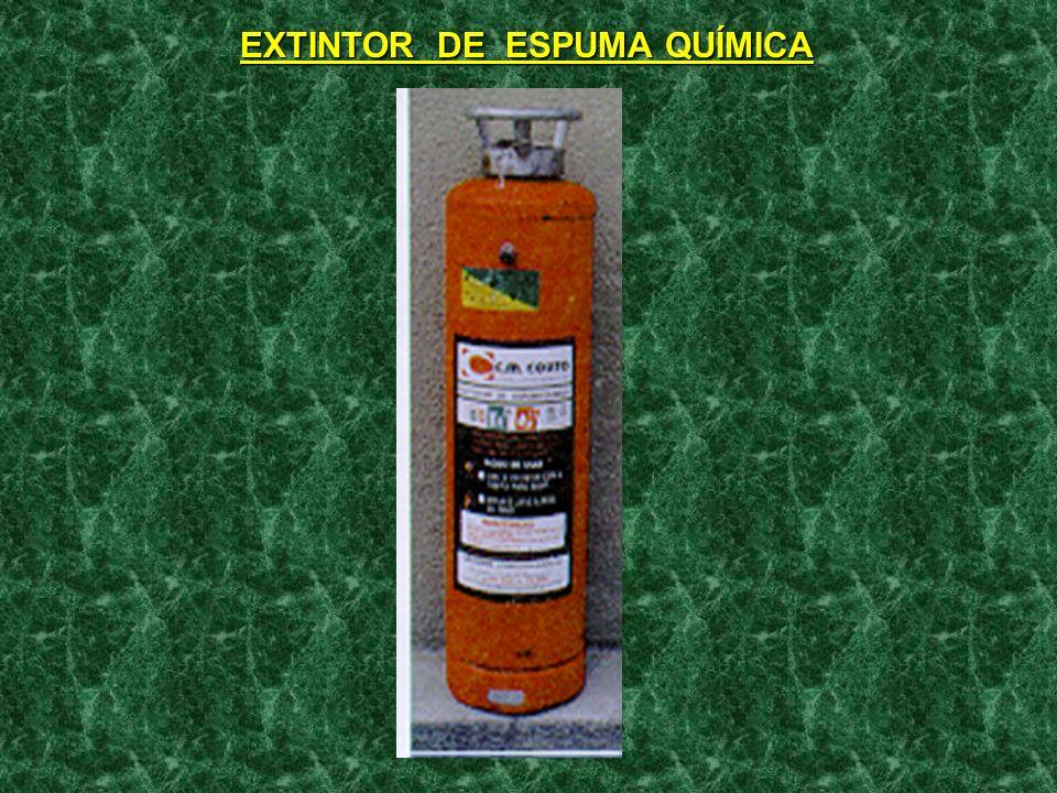AGENTES EXTINTORES: - BROMOCLORODIFLUORMETANO( HALLON 1211); e - BROMOTRIFLUORMETANO ( HALON 1301 ). - SÃO RECOMENDADOS PARA INCÊNDIOS DAS CLASSES B C