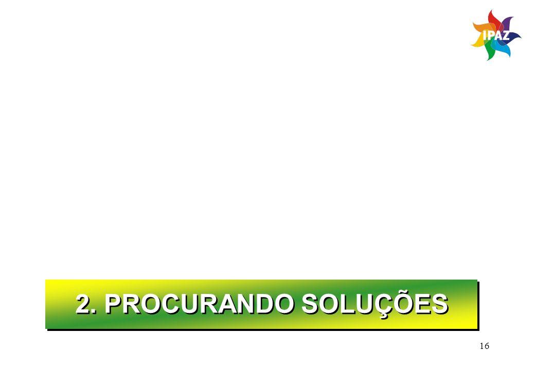 16 2. PROCURANDO SOLUÇÕES