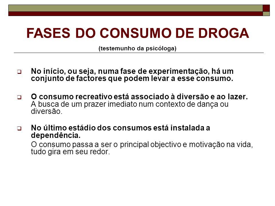 Alguns mitos sobre drogas (testemunho da psicóloga) O Álcool não é uma Droga.