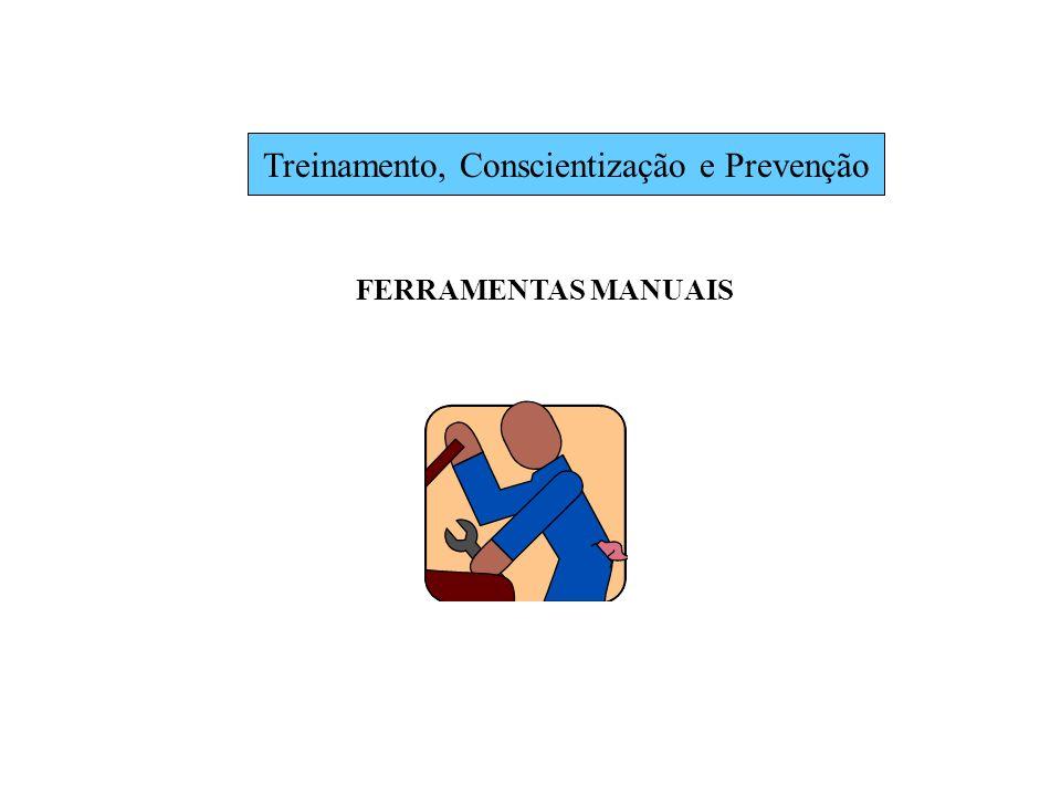 Treinamento, Conscientização e Prevenção FERRAMENTAS MANUAIS