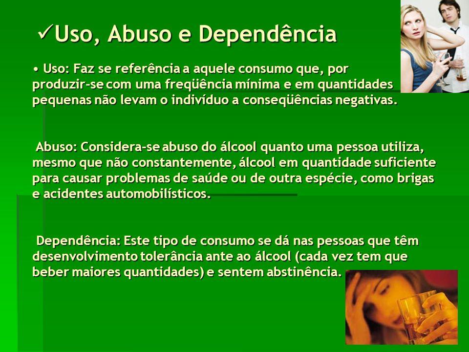 Os efeitos do álcool sobre o organismo Os efeitos do álcool sobre o organismo O consumo excessivo do álcool pode causar problemas clínicos e psicológicos.