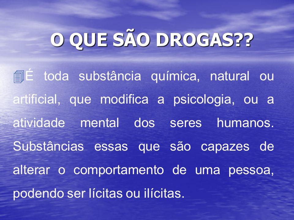 O QUE SÃO DROGAS?.