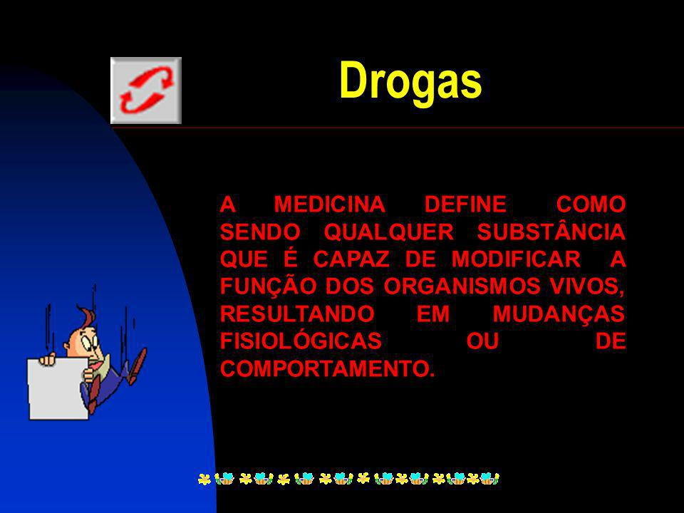 Drogas : Retorno??? Ida: Uma opção...