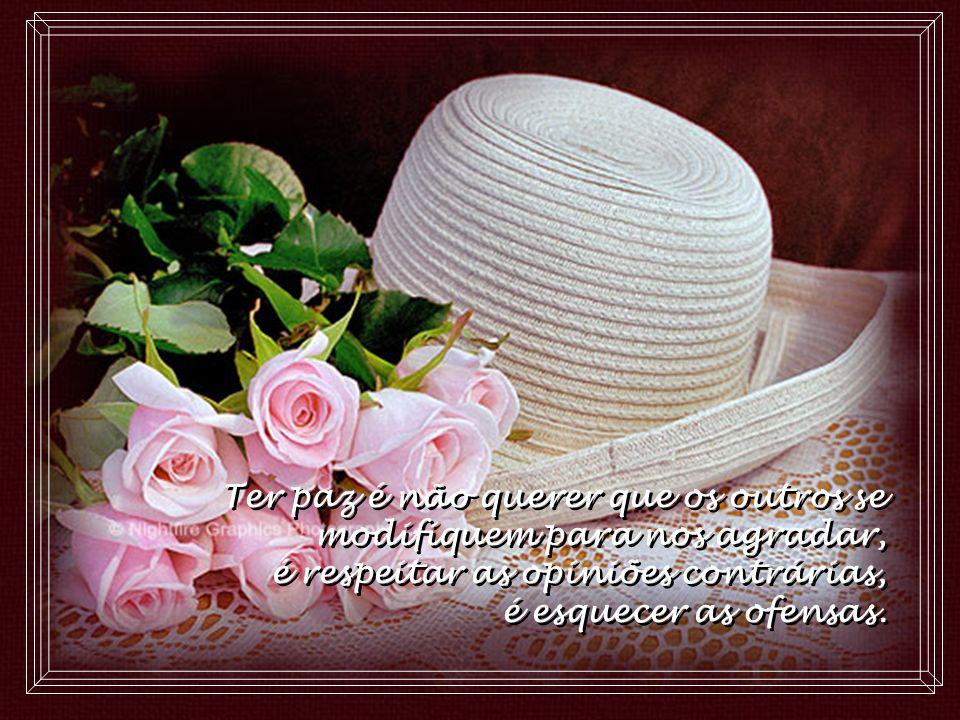 Ter paz é admitir a própria imperfeição e reconhecer os medos, as fraquezas, as carências... Ter paz é admitir a própria imperfeição e reconhecer os m