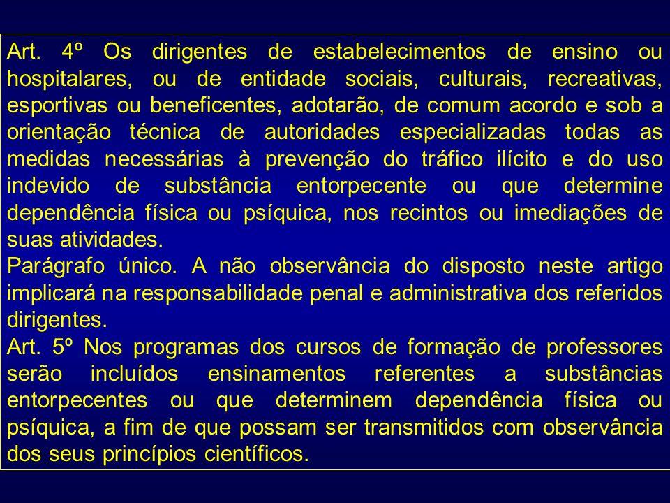 Art. 4º Os dirigentes de estabelecimentos de ensino ou hospitalares, ou de entidade sociais, culturais, recreativas, esportivas ou beneficentes, adota