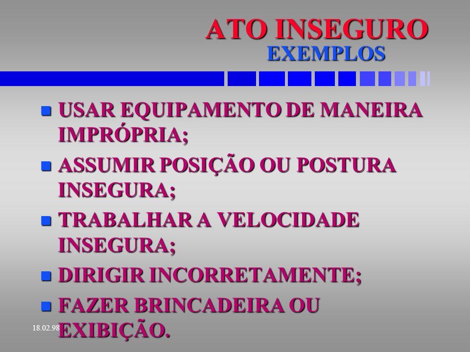 18.02.98 CAUSA BASICA E IMEDIATA TABELA E CONCEITO IDENTICO AO DO ROA.