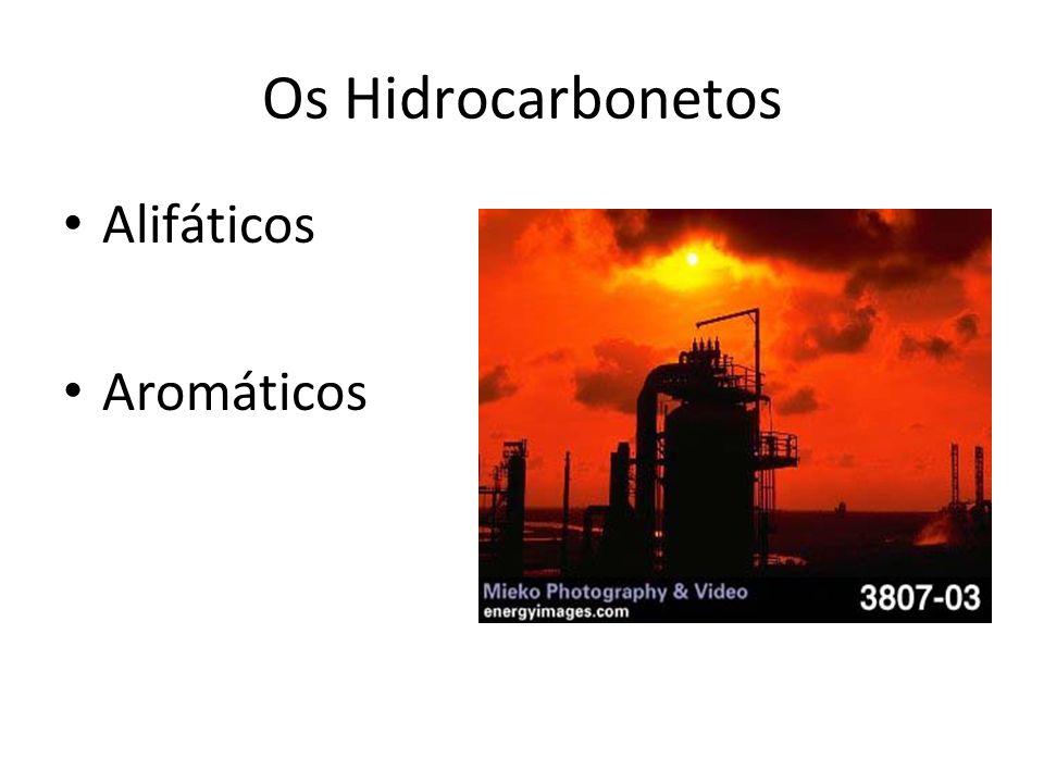 Radicais - Hidrocarbonetos Existe mais de um radical diferente contendo 3 ou 4 carbonos.